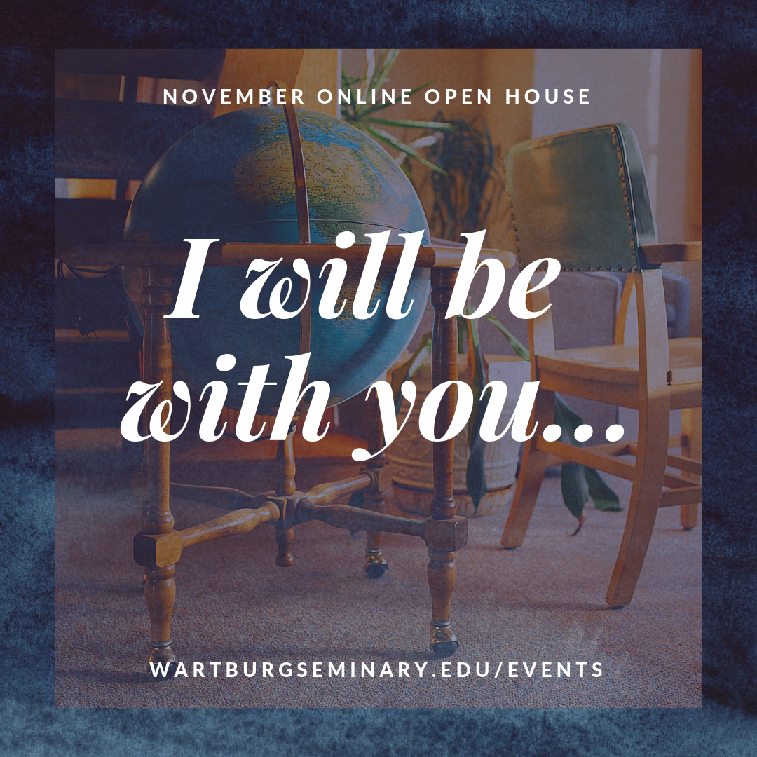 Fall Admissions Online Open House - Wartburg Seminary